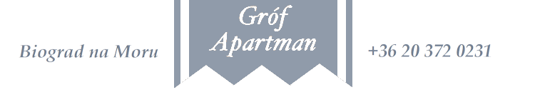 Gróf Apartman Biograd