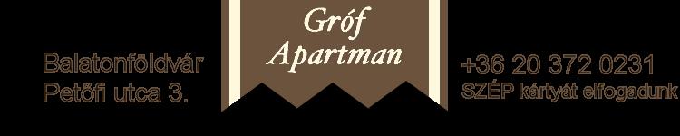 Gróf Apartman Balatonföldvár